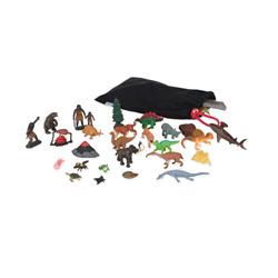 Figurki i zwierzęta do czarnej wstęgi 4,6 m, małe