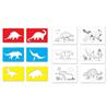 Dinozaury - szablony