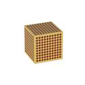 Drewniany kwadrat '1000', 1 sztuka