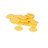 Żetony żółte, plastikowe fi 2 cm - 100 szt