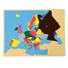 Puzzlowa mapa Europy