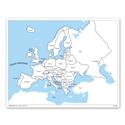 Europa - mapa kontrolna, PL