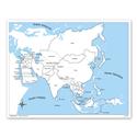 Azja - mapa kontrolna, PL