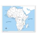 Afryka - mapa kontrolna, PL