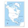 Ameryka Północna - mapa kontrolna, PL
