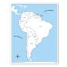 Ameryka Południowa - mapa kontrolna, PL