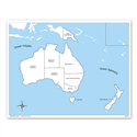 Australia - mapa kontrolna, PL
