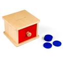 Kasetka z szufladką i krążkami