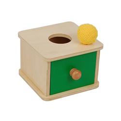Kasetka z szufladką i piłeczką