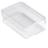 Plastikowe pudełko: 9.6 x 5.6 x 2.9 cm.