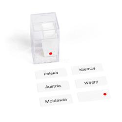 Europa - etykiety w pudełku, PL