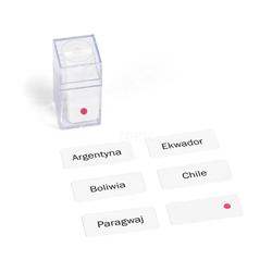 Ameryka Południowa - etykiety w pudełku, PL