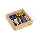 Schody koralikowe w pudełku, 10 zestawów