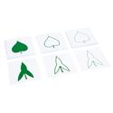 Karty z liśćmi