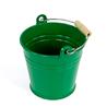 Wiaderko metalowe, zielone