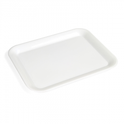 Plastikowa taca - XL, biała