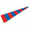 Czerwono-niebieskie drążki liczbowe