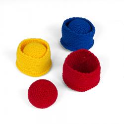 Koszałki z piłeczkami, zestaw 2