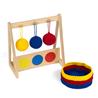 Wieszak z 3 piłeczkami: kolory podstawowe