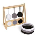 Wieszak z 3 piłeczkami: kolory monochromatyczne