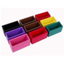 Pudełka gramatyczne - kolorowe, 9 szt-6737