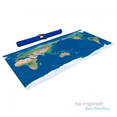 Duża mapa Świata, M /perspektywa wschodnia/-7053
