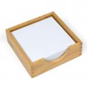 Pudełko na kartki papieru 14 x 14 cm.