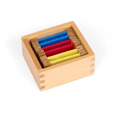 Kolorowe tabliczki - jedwab: pudełko nr 1-7595