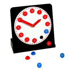 Zegar z ruchomymi wskazówkami-4370