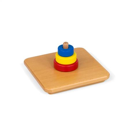 Kolorowe pierścienie na pionowym kołeczku-7712
