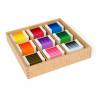Kolorowe tabliczki: pudełko nr 3