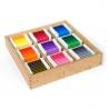 Kolorowe tabliczki: pudełko nr 4