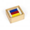 Kolorowe tabliczki: pudełko nr 1