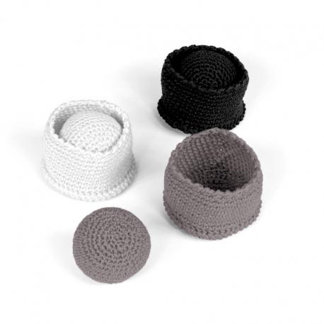 Koszałki z piłeczkami, zestaw 1-7980