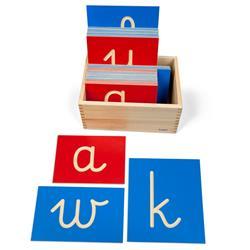 Rowkowane litery pisane - małe-2448