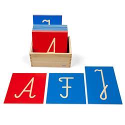 Rowkowane litery pisane - wielkie-2449