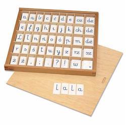 Ruchomy alfabet - litery pisane /18/-528