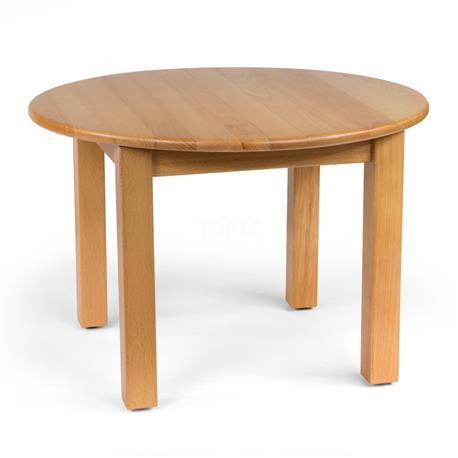 Stolik okrągły: FI 60 cm, H 40 cm-8182