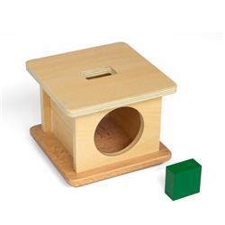 Kasetka z zielonym prostopadłościanem-8222