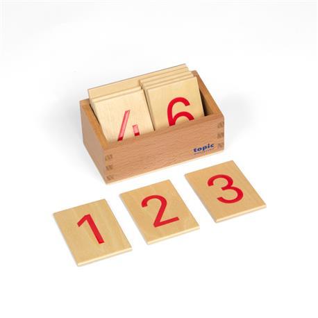 Cyferki do drążków w pudełku, drukowane-8227