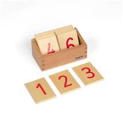 Cyferki do drążków w pudełku, pisane-8229