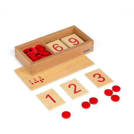 Cyferki i żetony: cyferki drukowane-8251