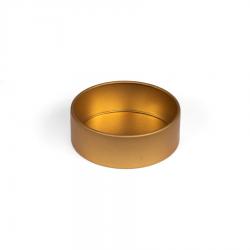 Złota miseczka do koralików-8231