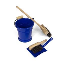 Mini zestaw do sprzątania, niebieski-8457
