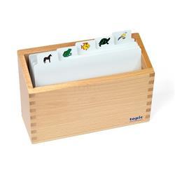 Pudełko na kartki do kolorowania: zoologia-8929