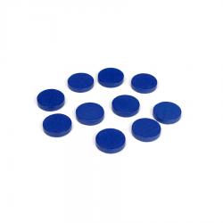 Drewniane żetony: niebieskie (100)-8913