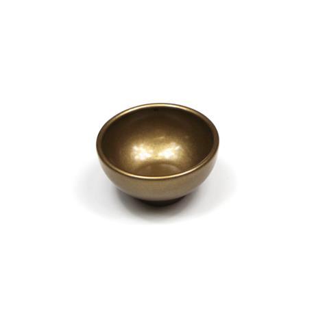 Złota miseczka do koralików-9382