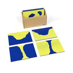 Karty z kształtami lądów i wód: piaskowe-9579
