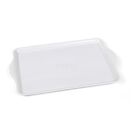 Plastikowa taca, biała-9587